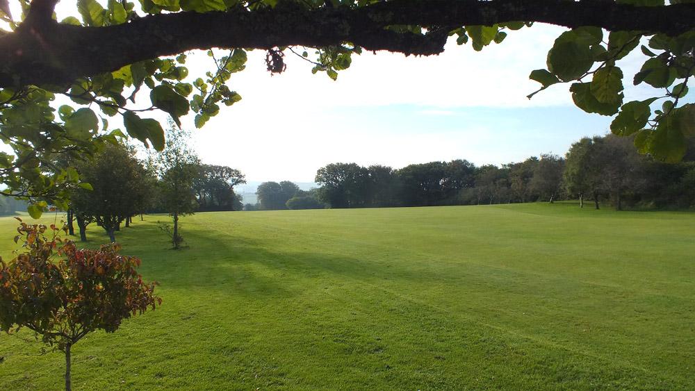 Wrangaton Golf Course - 11th fairway