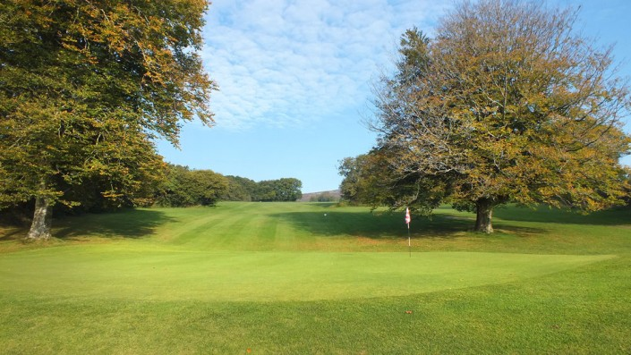 Wrangaton Golf Course - 11th green