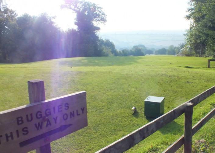 Wrangaton Golf Course - 12th tee