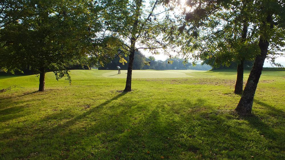 Wrangaton Golf Course - 15th green