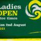 ladies open 2021