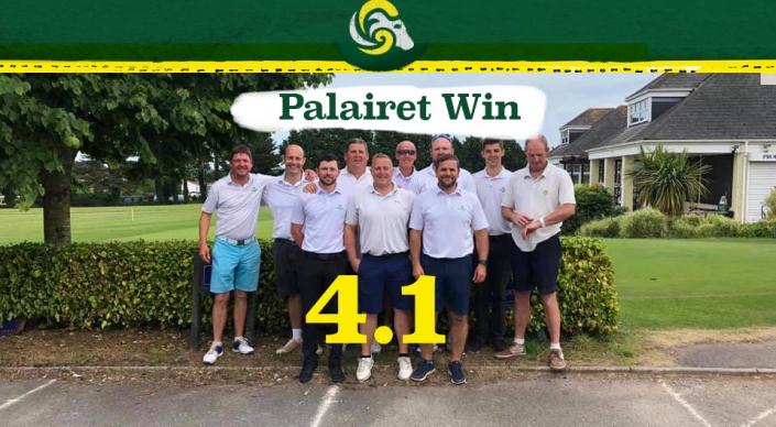 Churston success for Palairet team