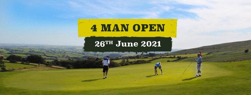 4 man open - 26th June 2021